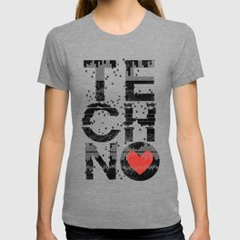 Love Techno Music T-shirt