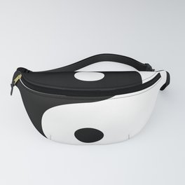 Yin And Yang Sides Fanny Pack