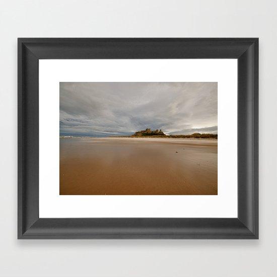 Bamburgh Castle Framed Art Print