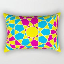 Broken Nonagon 2 Rectangular Pillow