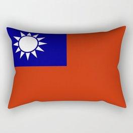 taiwan flag Rectangular Pillow