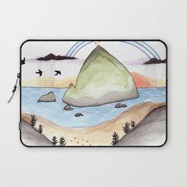 Haystack Rock Laptop Sleeve