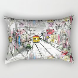 Main Street Rectangular Pillow