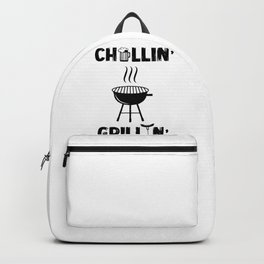 Chillin Grillin BBQ Grilling Backpack