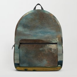 "John Constable ""Extensive Landscape with Grey Clouds"" Backpack"