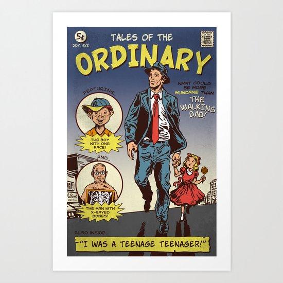 Tales Of The Ordinary Art Print