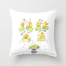 Baby family tree Throw Pillow