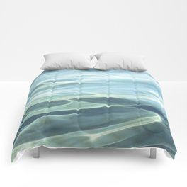 Water abstract H2O # 22 Comforters