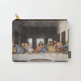 The last supper- painting by Leonardo da Vinci Carry-All Pouch