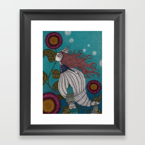 The Little Mermaid (1) Framed Art Print