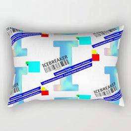 """Cocktail """"I"""" - Icebreaker Rectangular Pillow"""