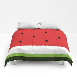 Fresh Water Melon Comforters