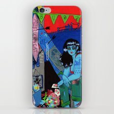 Bright as a Blade & Twice as Sharp iPhone & iPod Skin