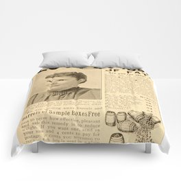 Short and Stout Comforters