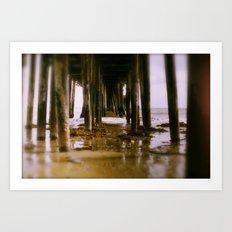 El Muelle Art Print