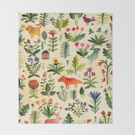 Garden Throw Blanket