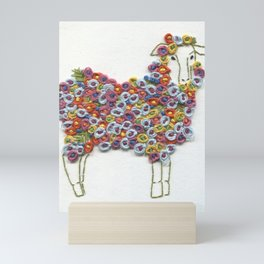 Word Association - Grow Mini Art Print