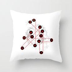 06: Feedback Loop Throw Pillow