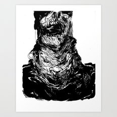 Neckface - Zombie Print Art Print
