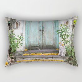 Doorways of the World - Bali II Rectangular Pillow