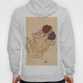 """Egon Schiele """"Mann und Frau, Umarmung"""" Hoody"""