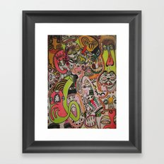 miles davies Framed Art Print