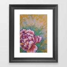 Peonie Study I Framed Art Print