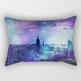 New York Night Rectangular Pillow
