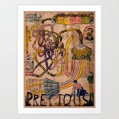 Precious Little Dears Art Print