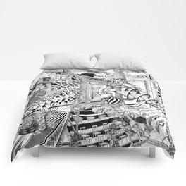 LA DIMENSIÓN DE CALABI-YAU O UNA TARDE EN EL BELLAGIO Comforters