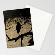 Heron Silhouette Stationery Cards