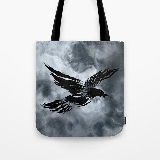 Turbulent Night Tote Bag