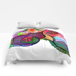Nautilus Mandala Colour Comforters