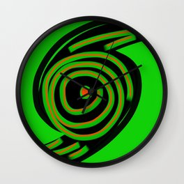 Spin Out Sixty Nine Wall Clock