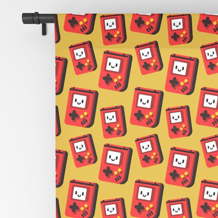 Retroboy Red Blackout Curtain
