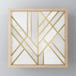 Art Deco Geometry 2 Framed Mini Art Print