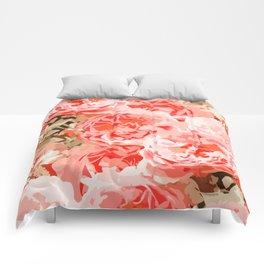 Fiona || #digitalart #nature #floral Comforters