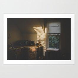 Golden Hour 1 Art Print