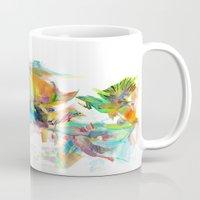 archan nair Mugs featuring Dream Theory by Archan Nair