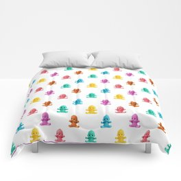 We Come in Many Colors Comforters