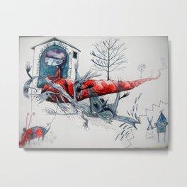 [picture of bad dream ] Metal Print