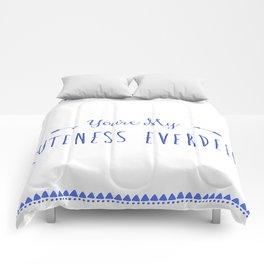 Cuteness Everdeen Comforters