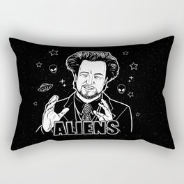 Aliens Guy (Giorgio Tsoukalos) Rectangular Pillow