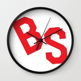 BS Tee Wall Clock