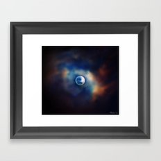 All great and precious things are lonely. Framed Art Print