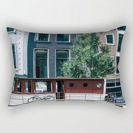 A Day in Amsterdam Rectangular Pillow