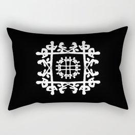 JAPANESE KANJI ART (KAMI=GOD) by AKIRA Rectangular Pillow