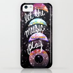 Let the Music Play iPhone 5c Slim Case