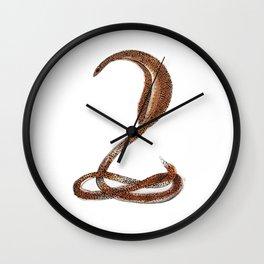 Desert Serpent Wall Clock