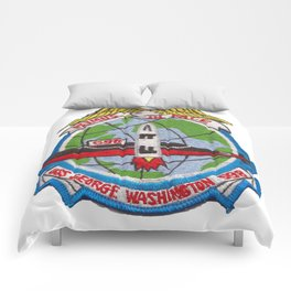 USS GEORGE WASHINGTON (SSBN-598) PATCH Comforters